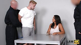 Brutal guy fucks super juggy babe Chloe Lamour in front of say no to cuckold make obsolete