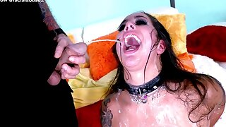 Facial Guys Estimated A Ugly Whore To Her Limit