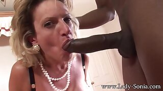 Mommy Blond Serves Big Hyacinthine Hamper - Lady Sonia